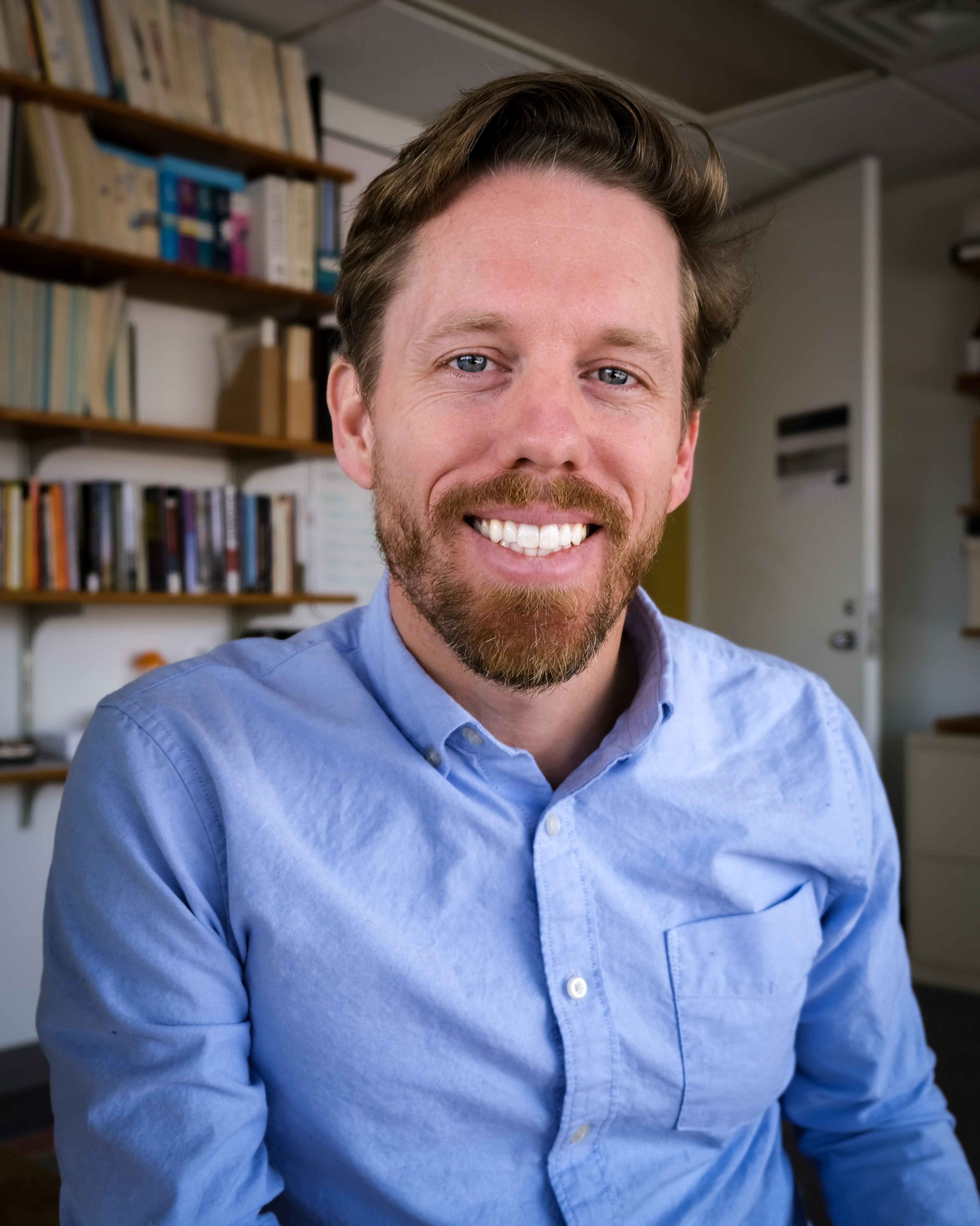 News from TRAC: Dr. Austin Kocher joins TRAC as New Faculty Fellow
